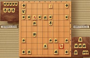 第6期リコー杯女流王座戦 第3局 里見四冠の勝ち.jpg